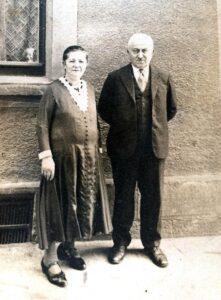 Abraham und Berta Baruch