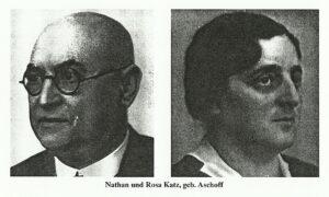 Nathan und Rosa Katz