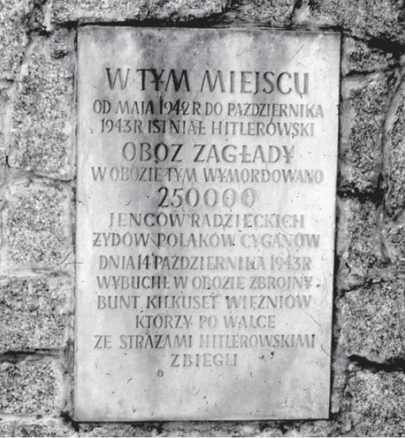 Gedenktafel 1965